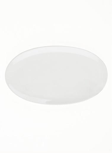 Morhipo Home Pure Oval Servis 2'li Set - 26cm & 29cm Beyaz